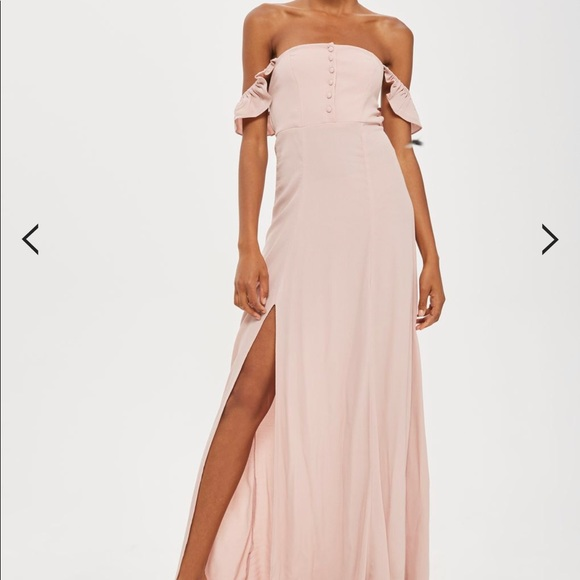 Bardot maxi dress flynn skye eterie